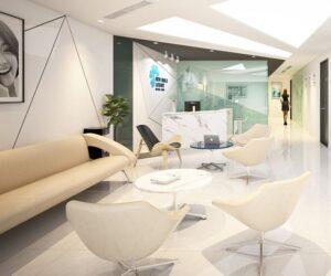 Thiết kế sảnh văn phòng